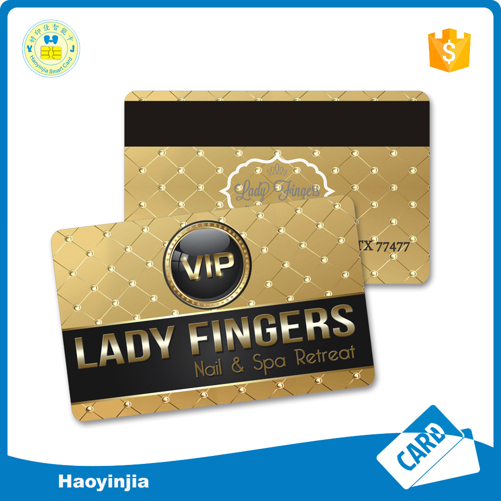 Free Sample PVC Loyalty ID card/ Plastic pvc card Printing