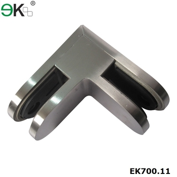 90 degree D glass clamp