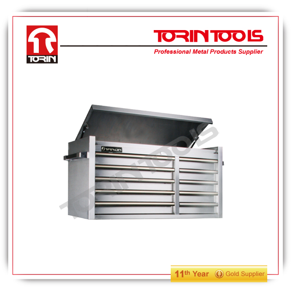 powder coated tool box wih wheels rolling metal tool box made in China