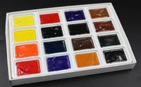 Chinese non-toxic luminous art and craft watercolor pigment ,watercolor cube