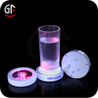 Well Promotion Products White Acrylic Led Bottle Glorify