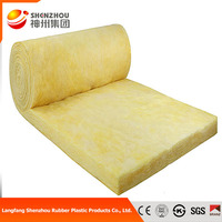 Best price roofing material glass wool insulation with aluminum foil faced