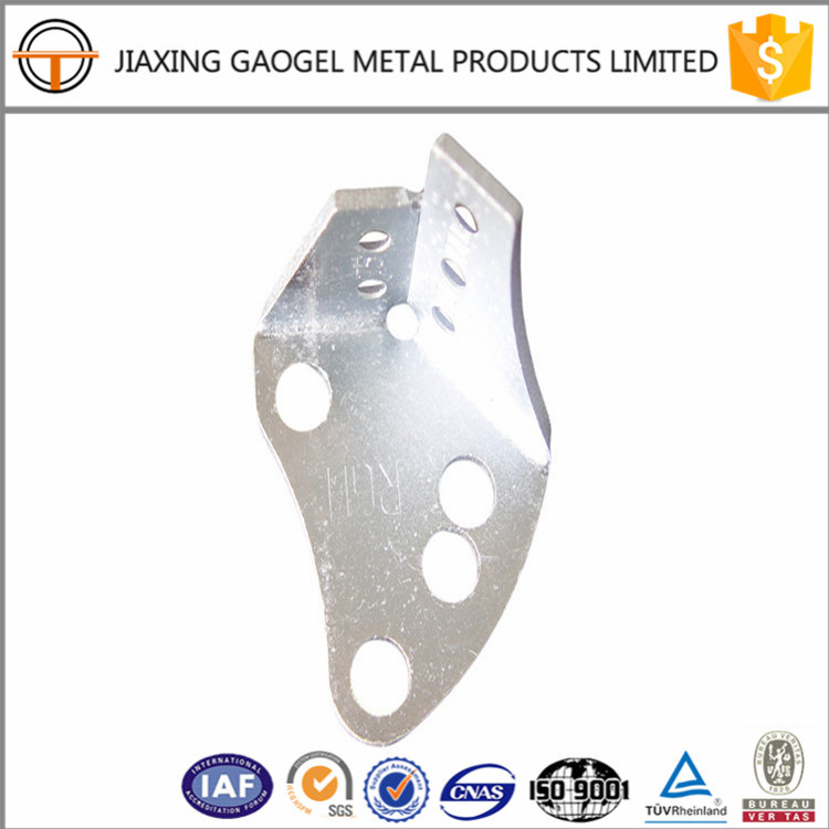 OEM non-standard zinc plating garage door fitting metal stamping and plating