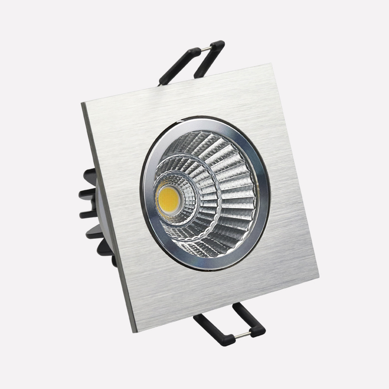 Alibaba best selling products stainless steel led downlight square