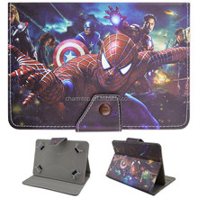 Cartoon Universal Leather Case for 7 inch Tablet