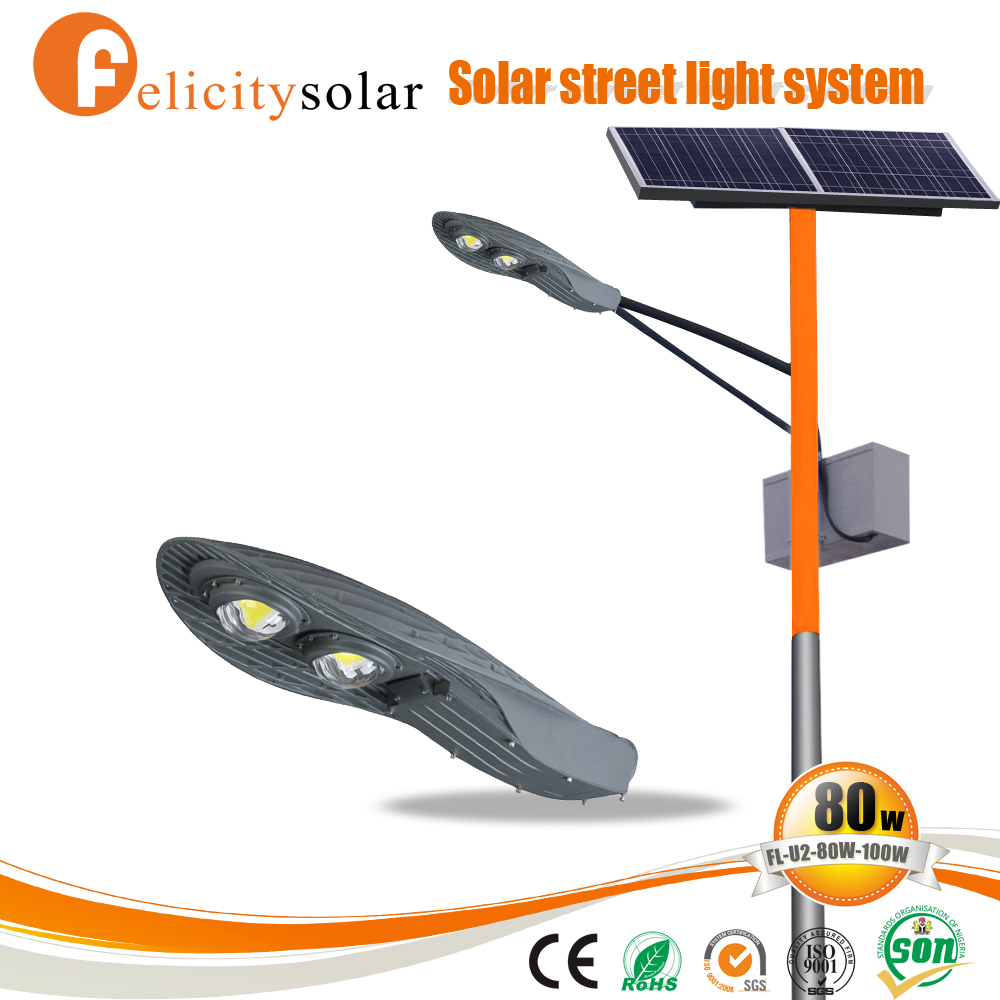 Outdoor energy saving ip65 50w 60w 80w led street light price list