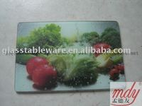 tempered glass cutting board,tempered glass vegetable board