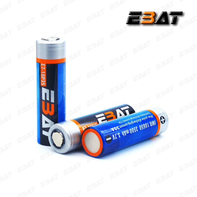EBAT 18650 3500mah 30A 3.7V li-ion battery