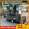 outdoor rolling food trolley cart