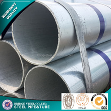 2016 Structure steel supplier for galvanized steel pipe sleeve