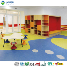 Eco friendly smellless kindergarten floor materials