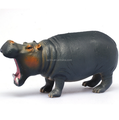 Realistic Toys Wild Animal Hippo model Toys/Making plastic Zoo animal figure toy/Create plastic stuffed animal Toys