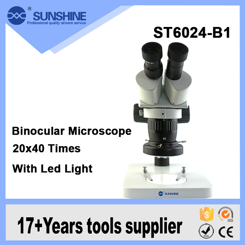 Sunshine 100mm Long Working Distance Optical Stereo Microscope