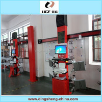 Wheel alignment and balancing machine/four wheel alignment