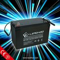 12v 100Ah gelled electrolyte sealed lead acid battery