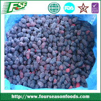 2015 High quality iqf fresh mulberries