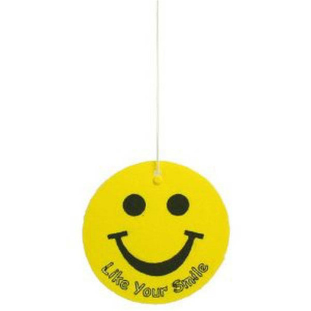 2018 smiley face car hanging air freshener/paper hanging air freshener/custom paper air freshener