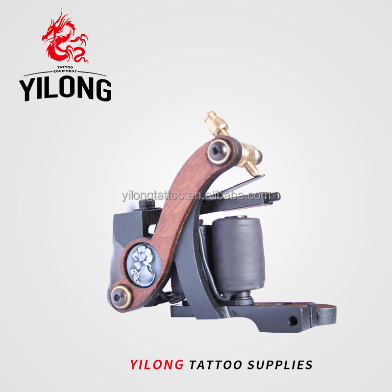Professional Top High Quality copper coils iron handmade shader tattoo machine
