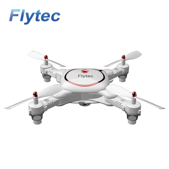 Flytec T16  RC Drone Optical Positioning Foldable Selfie Drone APP Control Drone Quadcopter Aircraft White