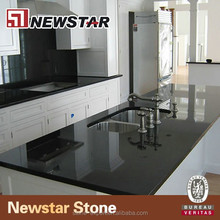 Newstar black granite kitchen benchtops