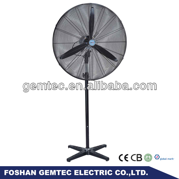 26 Inch Powerful Electric Metal Industrial Pedestal Fan