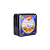 Iron Square beautiful can tinned 113.4g danish premium 30% butter danmark traditional hand made gluten free 4 shaped cookies