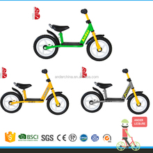 green/gray/yellow children balance bike mountain bike for sale