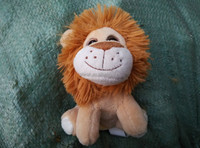 Wholesale cute plush toy animal pug small dog stuffed toy kids lion Plush toys