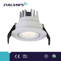 1W 3W adjustable embedded led lighting for furniture and cabinet, high color rending and long life span