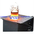 0.15T electric crucible furnace melting furnace for small aluminum melting furnace