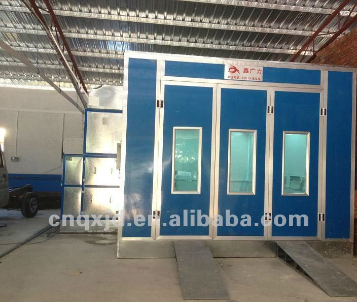 Dust Free Painting Room Automobile Paint Spray Booth Price