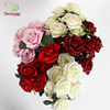 High-quality Artificial Rose, 10heads fabric Artificial flower