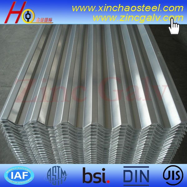 Sochi Olympic Supplier supply galvanized sheet metal roofing