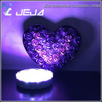 Valentine Day Gifts 6'' Rechargeable Led Light Base RGB Color For Decoration
