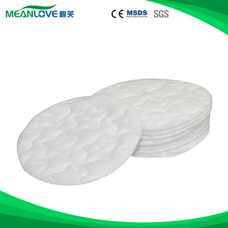 Surgical Absorbent healthy facial cleansing cosmetic pad