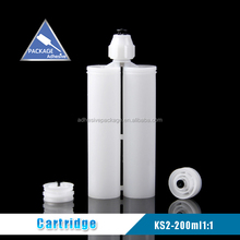 KS2 -200ml 1:1 Plastic Two Component Silicon Resin Adhesive Cartridge