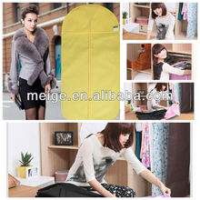 Wholesale extra wide dress garment cover bag
