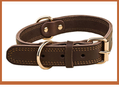 Pet supply accessory wholesale ,leather dog collares