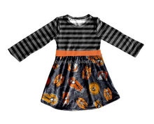 giggle moon remake outfits halloween dress stripe fabric halloween costume baby clothes 2016