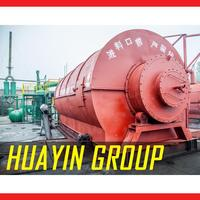 Waste recycling waste old tyre pyrolysis oil recycling machine