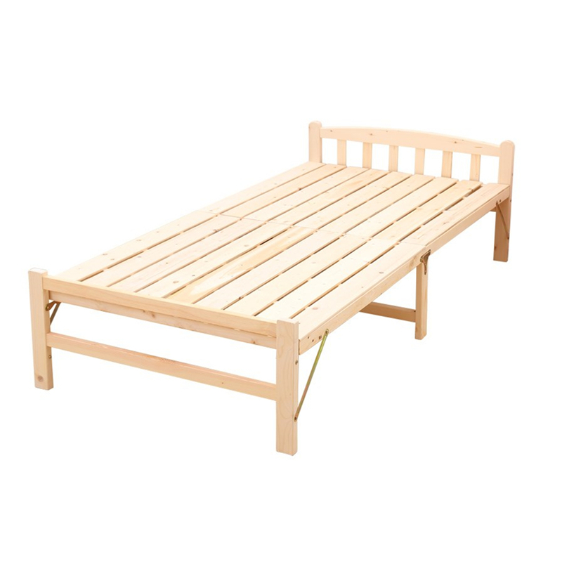Solid wood saving space folding <strong>bed</strong>