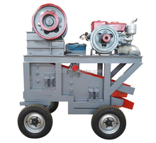 China low price stone diesel engine jaw crusher plant manufacturer