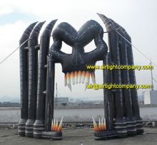 Halloween Inflatables, Custom Inflatable Archway Entrance