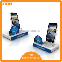 Hongkong Supplier Hot selling Smart phone alarm display stand for mobile stores