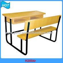 Used School Furniture Plastic Folding Child Study Tables and Chairs