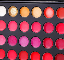 Cosmetic supplier!66 color makeup lip palette lipgloss led