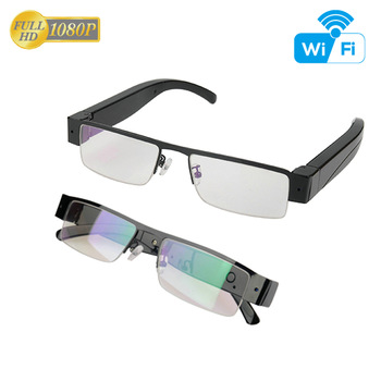 2018 new arrivals Smart <strong>WiFi</strong> live video stream security <strong>wifi</strong> camera Video Glasses Camera For Android IOS 1080P Remote