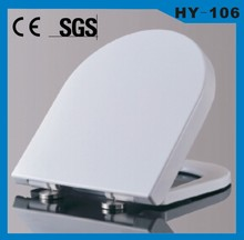 PP material soft close toilet seat WC toilet seat cover elongated toilet seat