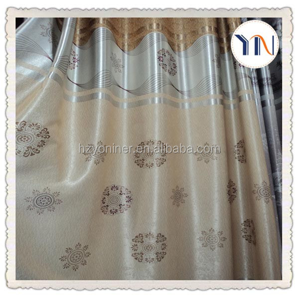 new arrival printed fabric blackout italian style curtains