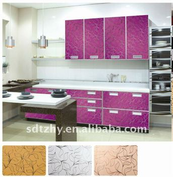 Purple Mirror Glass Door For Kitchen Cabinet Buy Frosted